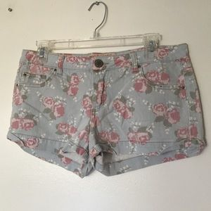Mossimo Supply Co Floral Shorts